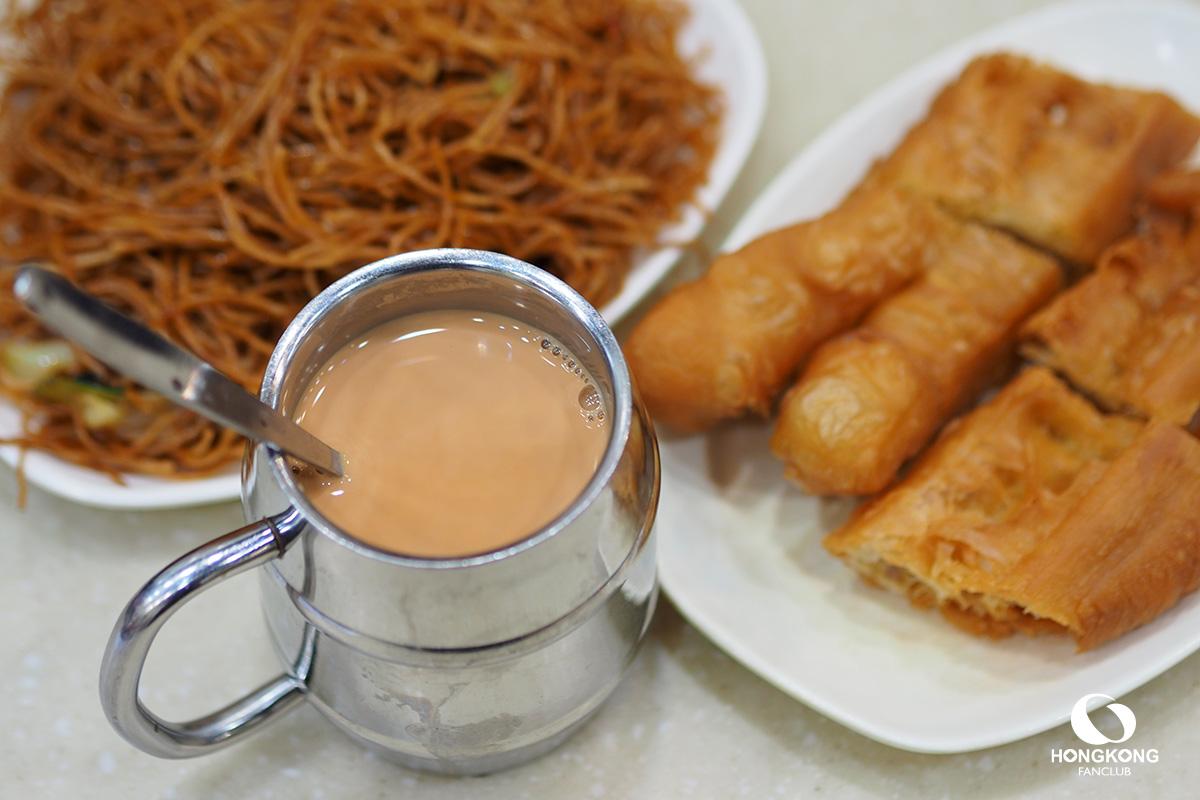 ชานม ฮ่องกง