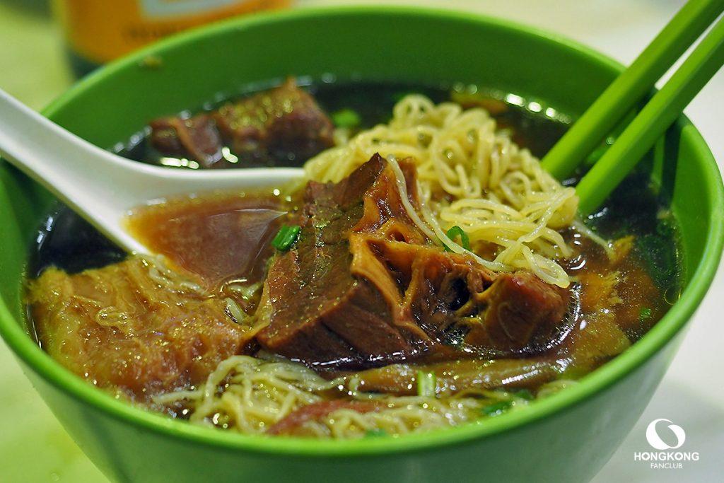 บะหมี่เนื้อตุ๋น ฮ่องกง