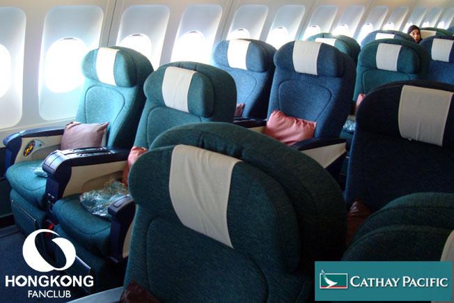 Cathay Pacific – Business Class จากฮ่องกงสู่สุวรรณภูมิ