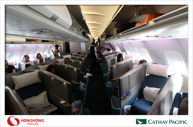 Cathay Pacific – ประสบการณ์ที่ประทับใจกับการบินครั้งแรกใน Business Class