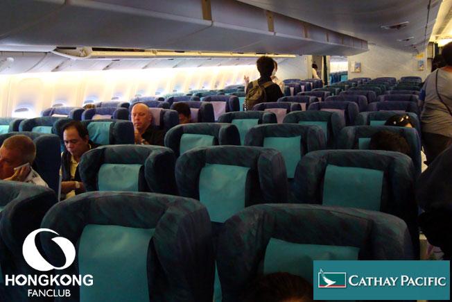 Cathay Pacific – Economy Class จากสุวรรณภูมิสู่ฮ่องกง