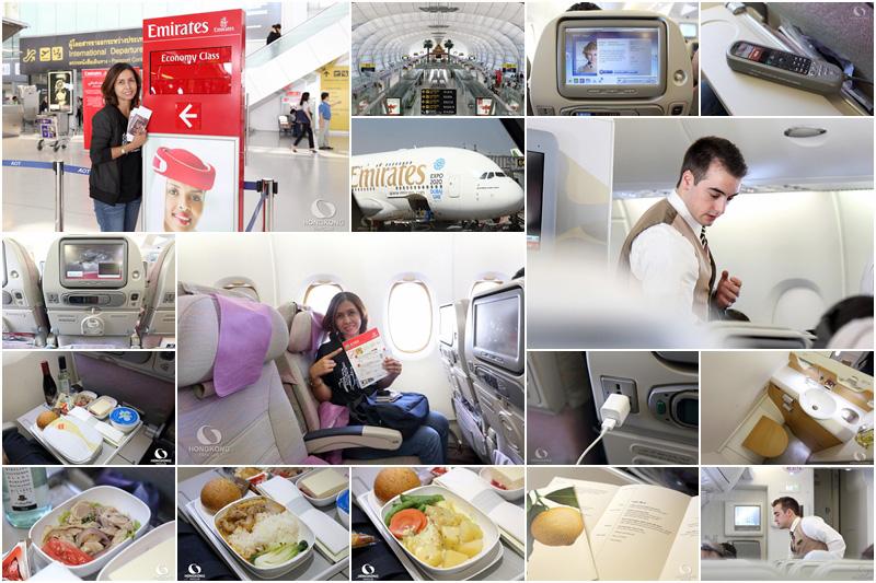 รีวิว Emirates A380 ชั้นประหยัด บริการดีมากๆ (2014)