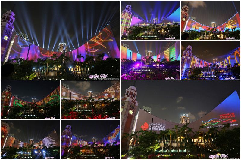 """รีวิว Hong Kong Pulse 3D Light Show - """"ชมฟรี"""" ตรวจสอบวันแสดงก่อนเดินทาง"""