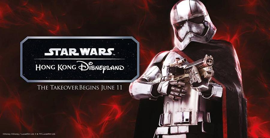 Star Wars Tomorrowland Takeover ความสนุกเริ่มขึ้นแล้วที่ ฮ่องกงดิสนีย์แลนด์!