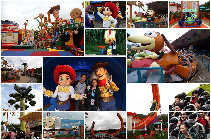 Toy story Land สวนสนุกใหม่ล่าสุดใน Hong Kong Disneyland