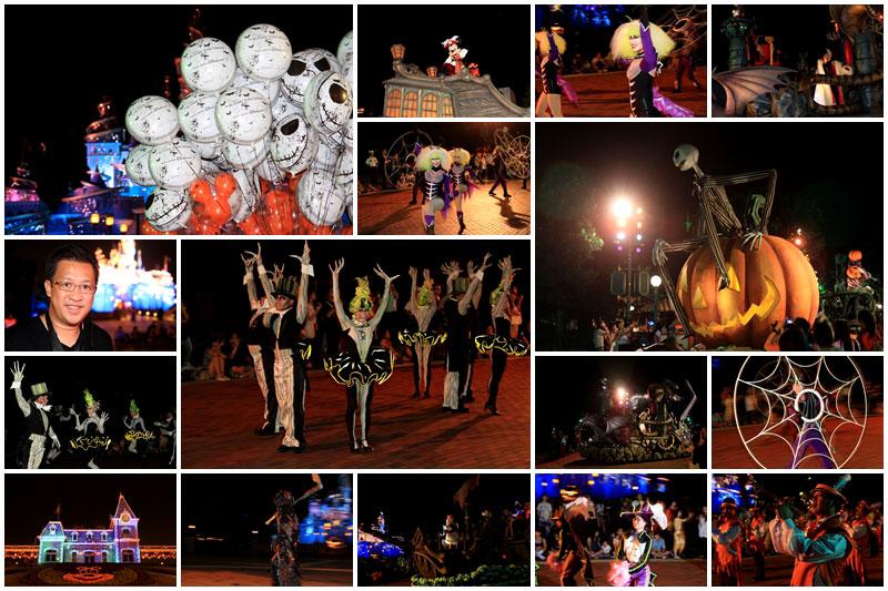 รวมคลิปบรรยากาศ Disney's Haunted Halloween @ Hong Kong Disneyland (2011)