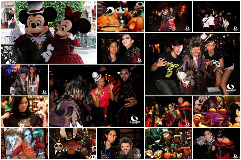 พาเที่ยวก่อนใคร Haunted Halloween ที่ Hong Kong Disneyland 2012