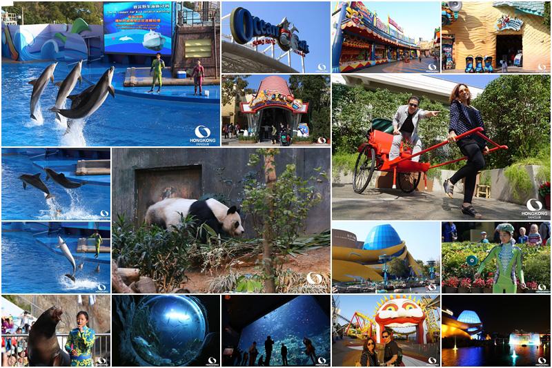 ลุงเด้ง ป้าไก่ ชวนเที่ยว Ocean Park สวนสนุกสำหรับทุกคนในครอบครัว (2015)
