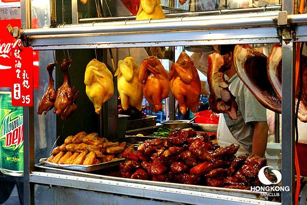 ซื้อหมูแดง ห่านย่าง กลับบ้าน ที่ Mong Kok แถวนี้อาหารถูกครับ