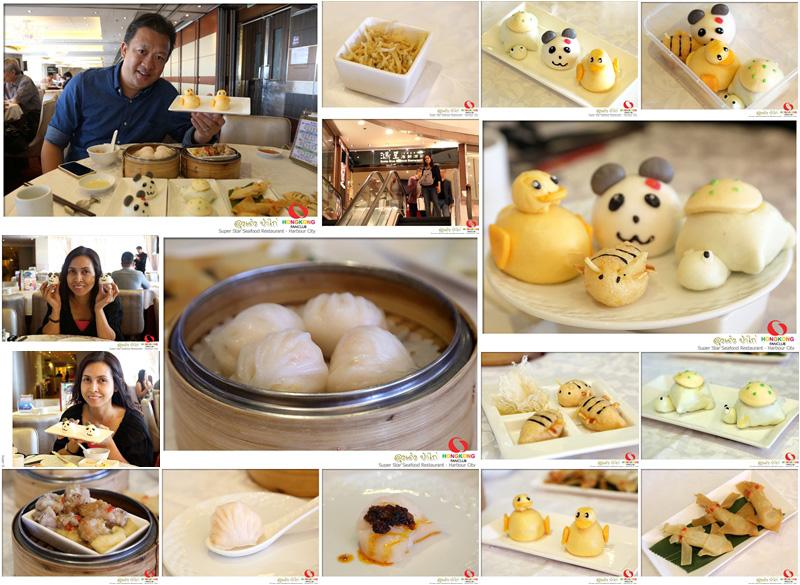 ติ่มซำการ์ตูน @ Super Star Seafood Restaurant, Grand Centre จิมซาโจ่ย
