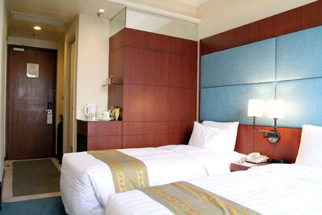 BP International House โรงแรมทำเลเยี่ยมแหล่งช๊อปปิ้ง ร้านอาหาร ตลาดกลางคืน และสถานีรถไฟฟ้าใต้ดิน