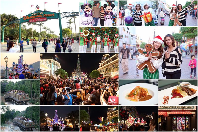 ฉลอง Christmas พร้อมรับลมหนาวปีนี้ที่ Hong Kong Disneyland (2013)