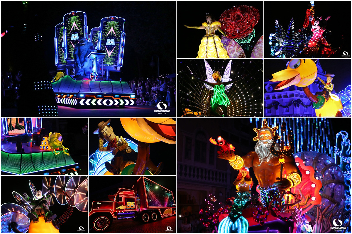 Disney Paint the Night พาเหรด แสงสี ทุกค่ำคืน