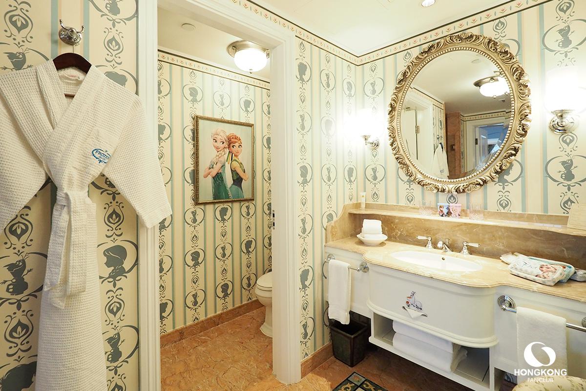 ห้องพัก โฟรเซ่น สวีท ฮ่องกงดิสนีย์แลนด์