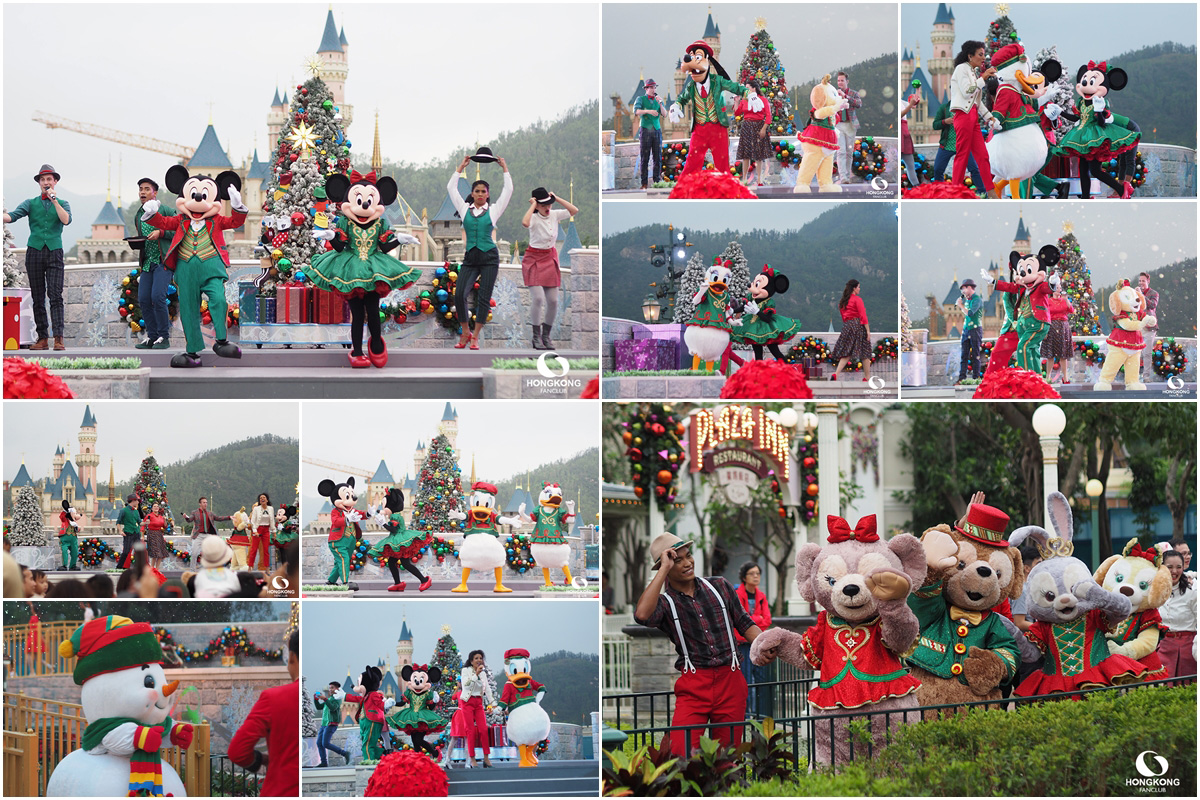 Mickey and Friends Christmastime Ball
