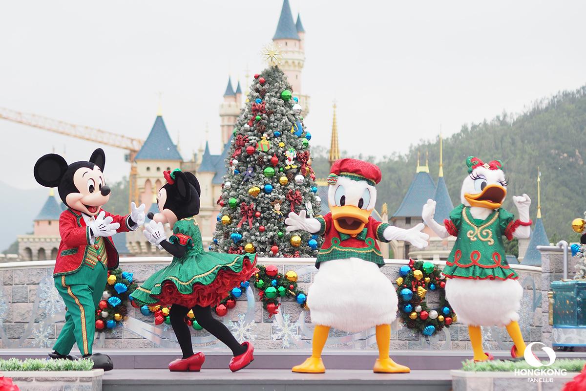 A Disney Christmas ฮ่องกงดิสนีย์แลนด์