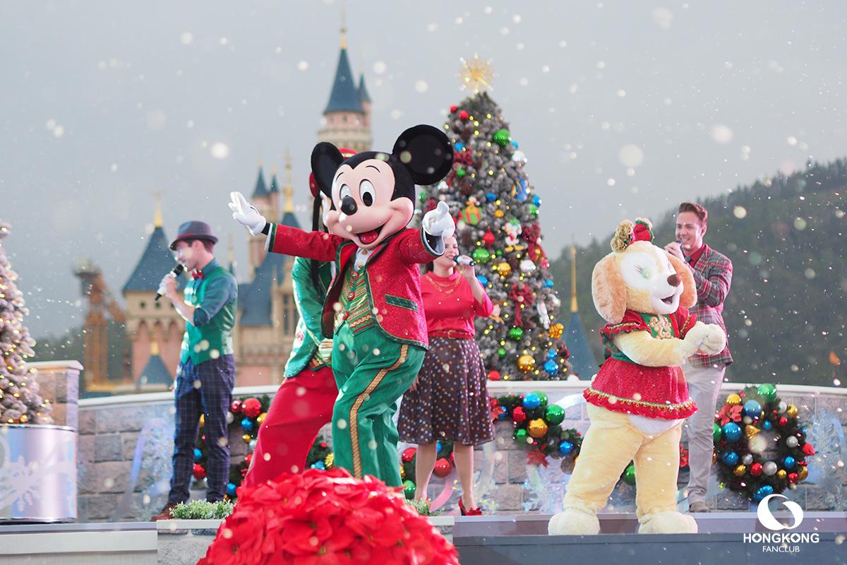 A Disney Christmas ฮ่องกง ดิสนีย์แลนด์