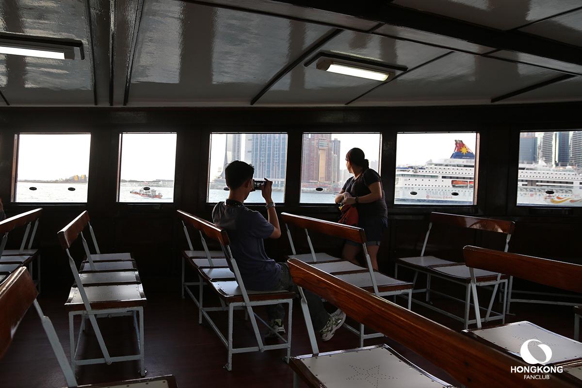 นั่งเรือ เกาลูน ไป ฮ่องกง