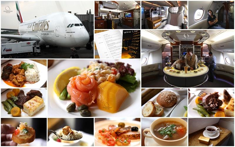 ประสบการณ์ อิ่มอร่อยกับเจ้าวาฬน้อย Emirates A380 SuperJumbo