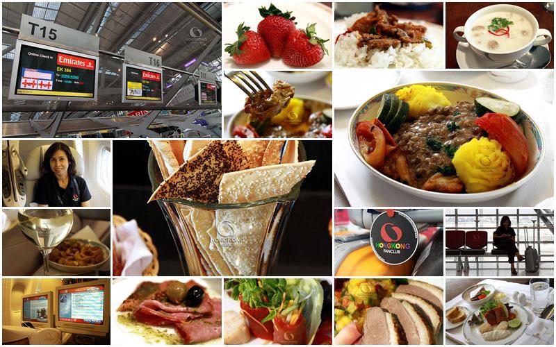 เหิรฟ้าไปฮ่องกง กับ Emirates Business Class