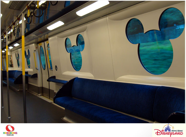 MTR Disneyland Resort Line – ไปเก็บรูปสวย ๆ ที่รถไฟฟ้าสาย Disney