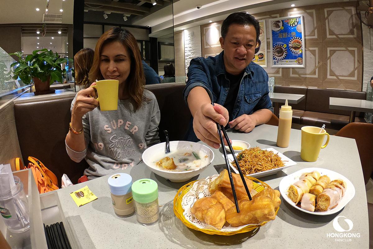 ร้านโจ๊ก ฮ่องกง 2019