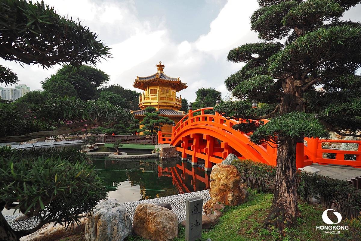 Pavilion of Absolute Perfection Lotus Pond