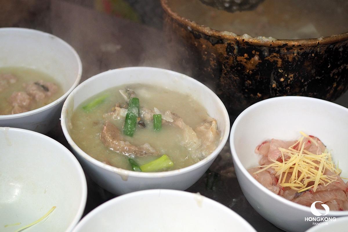 โจ๊กปลา ฮ่องกง