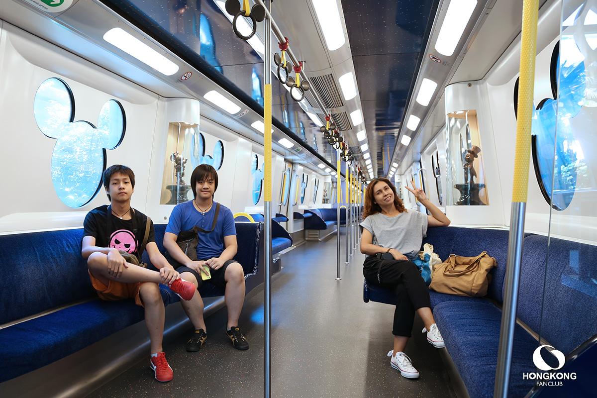 MTR ฮ่องกง ดิสนีย์แลนด์