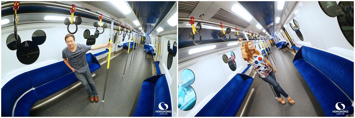 รถไฟ ฮ่องกง ดิสนีย์แลนด์