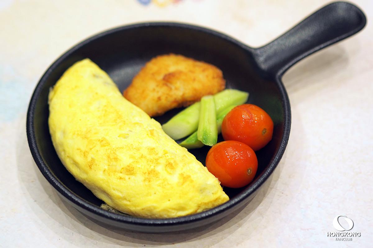 อาหารเช้า ฮ่องกง ดิสนีย์