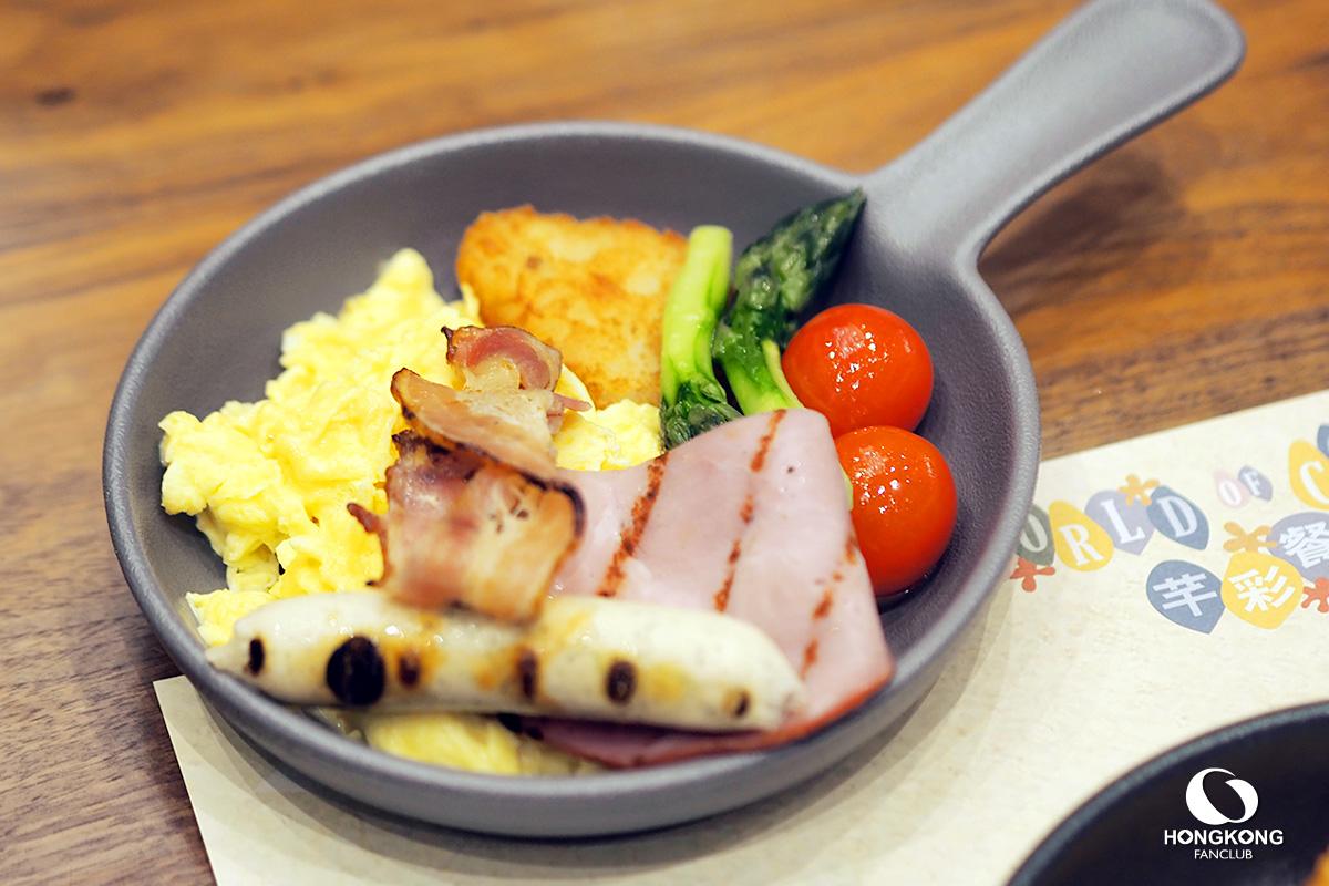 บุฟเฟ่ต์ อาหารเช้า ฮ่องกง ดิสนีย์